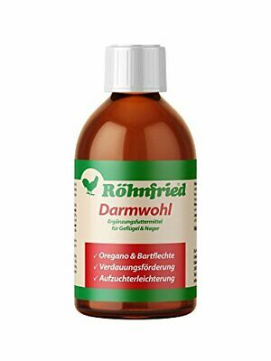 röhn Fried Intestino Wohl Alimentos Complemento (250ml) para roedores, Aves