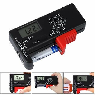 Battery Tester for AA AAA C D 9V 1.5V Button Coin Cell-BT-168D