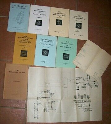 Collection of 8 Booklets etc. Ely Cathedral Priory & Monastry