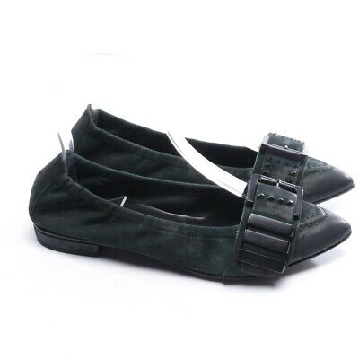 e58f1b3ce5 Kennel & Schmenger Ballerine Tg. D 37 UK 4 Verde Donna Shoes Leather New  Nuovo