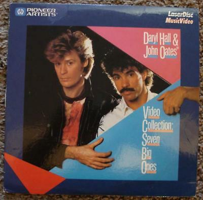 "Rare 8"" Daryl Hall & John Oates Laserdisc Video Collection Seven Big Ones 1984"