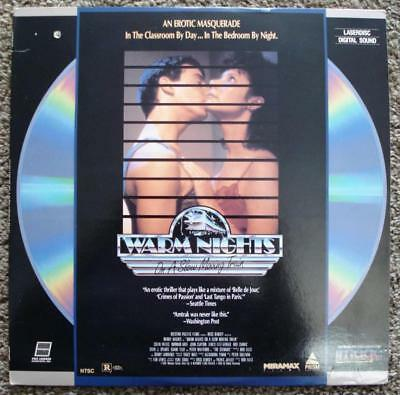 Rare Laserdisc Warm Nights On A Slow Moving Train Wendy Hughes Rated R Near Mint