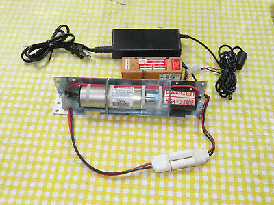 3+ mW RED HeNe Laser Kit Tube, Power Supply, More, Demo Education Research