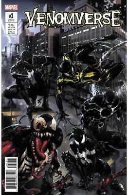 "Venomverse #1 (Of 5) Crain Connecting Variant Marvel ""F4"""