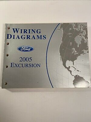 2005 ford excursion wiring diagrams electrical workshop repair manual ewd  oem
