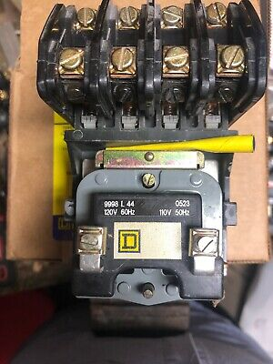 Used Square D 8903LO04 Lighting Contactor 4 Pole Series C 8903LO40V02 120v Coil