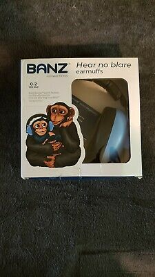 Baby Banz Ear muffs Baby Blue 0-2 years New