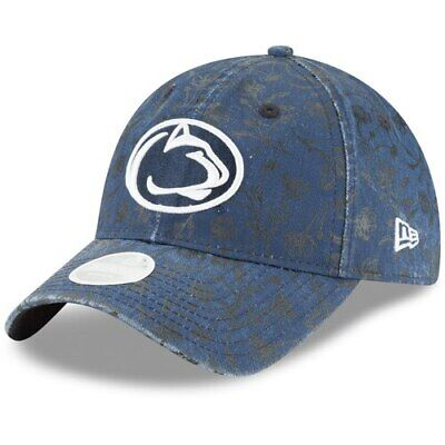 new arrival c8a76 ee806 Penn State Nittany Lions New Era Floral Peek 9TWENTY Adjustable Hat - Navy