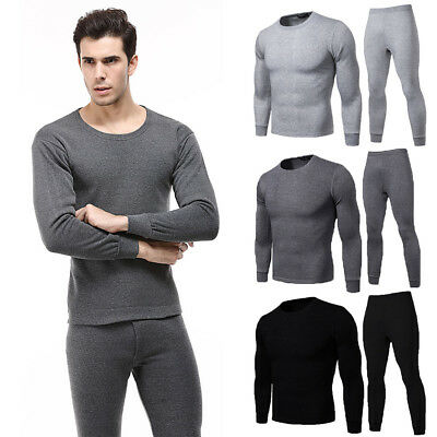9ee7e94dc77d Men Women Casual Winter Warm Velvet Inner Wear Thermal Underwear Long  Pajama Set