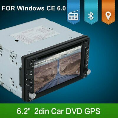 Double Din Car Stereo With Backup Camera Bluetooth Radio Mirror Link For GPS