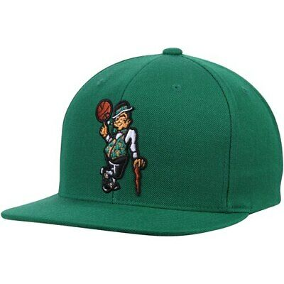 the best attitude 54639 3dbe4 Boston Celtics Mitchell   Ness Wool Solid 2 Snapback Adjustable Hat - Green