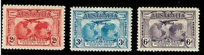 Australian Stamps - Kingsford Smith (1931) - Set of 3 MUH - FREE POST
