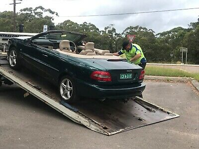Volvo soft top convertible 2003