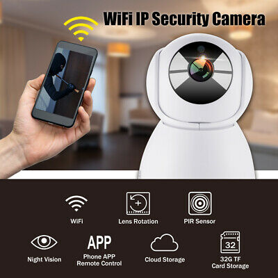 1080P WiFi Wireless Home Security IP Camera Night Vision Motion Detection AH530