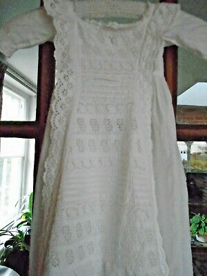 A babies antique christening / smart day dress 90cms long