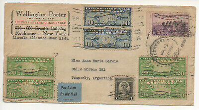 Air Mail Letter  13 07 1935 #169