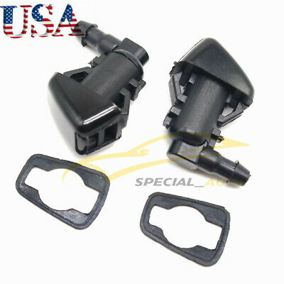Windshield Wiper Washer Spray Nozzle 68260443AA For Jeep Grand Cherokee 11-17