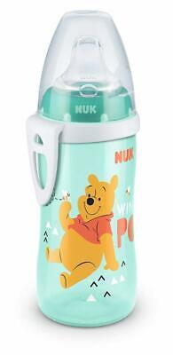 NUK Disney Winnie the Pooh Active Cup 300 ml with Soft Silicone Drinking...