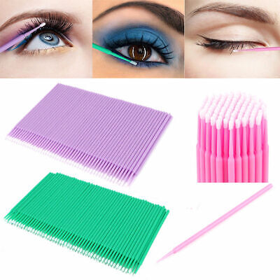 Disposable Lash Eyelash Dental Brush Mascara Wands Applicator Makeup Tool 100Pcs