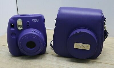 Fujifilm Instax Mini 8 + Case Instant Camera - Purple