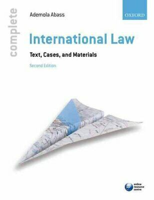 Complete International Law Text, Cases, and Materials 9780199679072 | Brand New