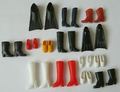 Bundle of Sindy / barbie and similar Doll shoes