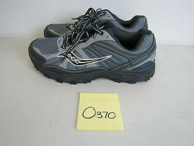 694f4a09 Mens Saucony Grid Escape Tr3 Gray Blue Running Shoes Size 9.5W O370