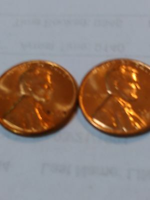 1960 P & D Large Date Uncirculated Lincoln Cent