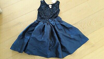 Girls black sequin party dress from Kylie at M & Co age 10 BNWT