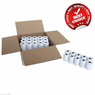 100 Rolls 57x40mm Thermal Paper Credit Card Machine PDQ Till Rolls CHEAPEST EVER