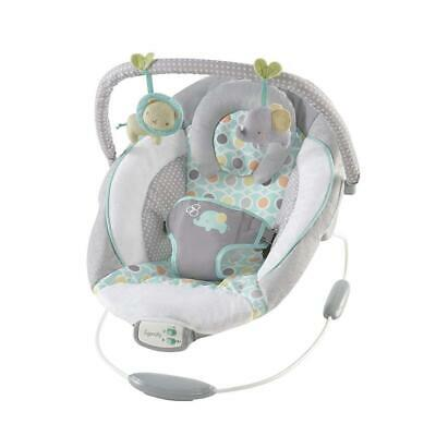 Baby Rocker Bouncer Reclining Vibrating Chair Soothing Music Vibration Toys