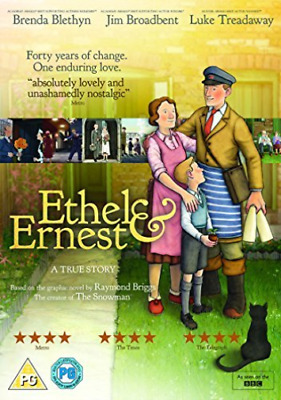 Ethel & Ernest Dvd New
