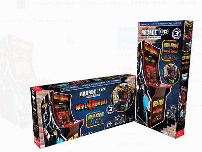 BRAND NEW Arcade1Up Mortal Kombat 4' Arcade Game SEALED IN HAND SHIPS FAST
