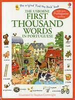 First Thousand Words in Portuguese - Heather Amery - 9781409566120