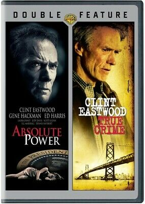 Absolute Power / True Crime [New DVD] 2 Pack, Eco Amaray Case