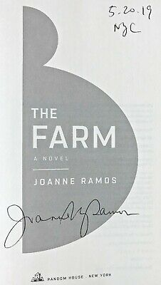 THE FARM by Joanne Ramos (2019) ~ SIGNED+DATED+NYC ~ First Ed. / First Printing