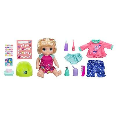 Baby Alive Potty Dance Exclusive Value Pack (Blonde Straight Hair)