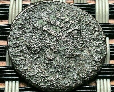 Fausta, Wife Of Constantine I The Great 325-326 Ad Ae Follis Ancient Roman Coin