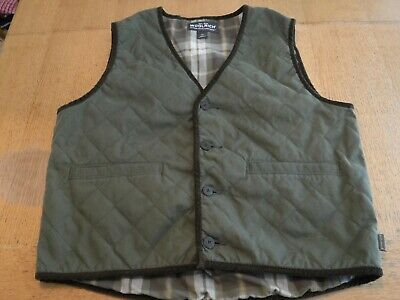 Woolrich Large Cotton/Nylon quilted Blend,poly filled Outdoor,camping,Flannel