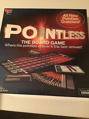 BBC Pointless Trivia Quiz TV Show Board Game **Brand New