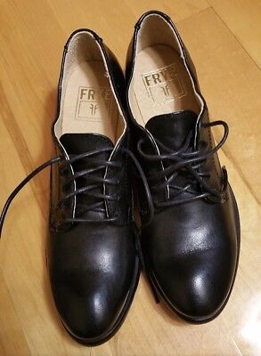 44bd6802ddaf7 FRYE CARSON LACE Up Oxfords Womens 8.5 Brown Leather - $65.00 | PicClick