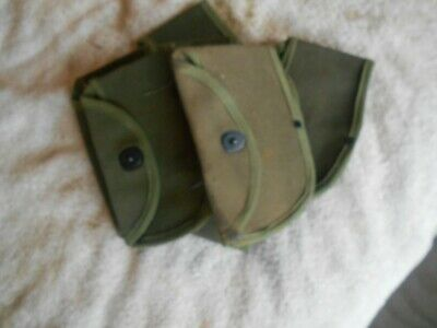 WW2 USGI hatchet canvas carrier pouch cover lift the dot mid to late war