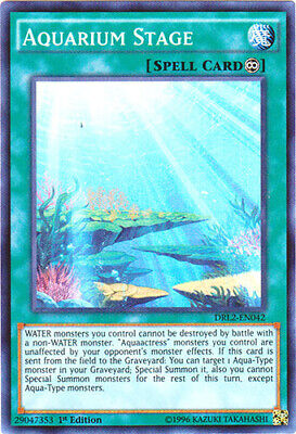 x1 Aquarium Stage - DRL2-EN042 - Super Rare - 1st Edition Yu-Gi-Oh! M/NM