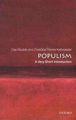 Populism: A Very Short Introduction by Cas Mudde 9780190234874 | Brand New
