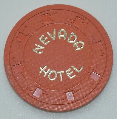 1950's Nevada Hotel 10¢ Casino Chip Ely/Battle Mountain Nevada H&C CJ Mold
