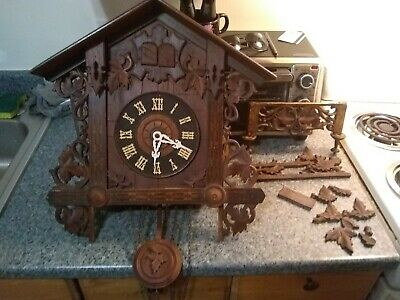 1800's Black forest Cuckoo Clock Germany