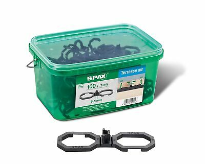 SPAX Air, for better ventilation, in handle box, black, 5009422565009