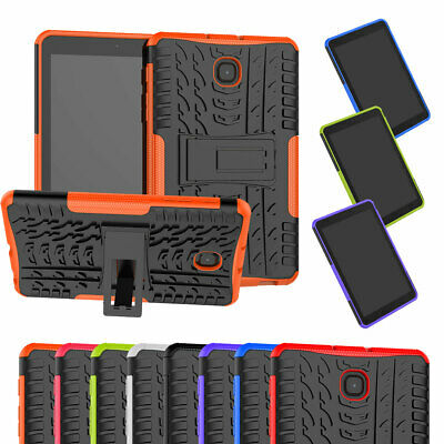 Shockproof Hybrid Rubber Stand Case Cover For Samsung Galaxy Tab A 8.0 T387 2018