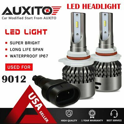 AUXITO 9012 HIR2 LED Headlight Bulb Kit CREE 9000LM 6000K High Power Xenon White