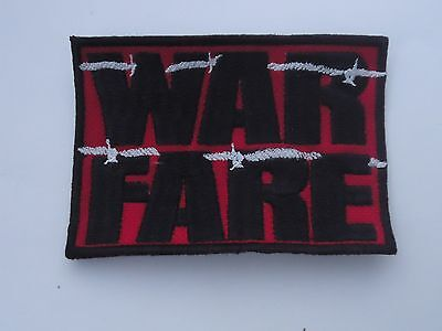 Warfare Speed Metal Embroidered Patch
